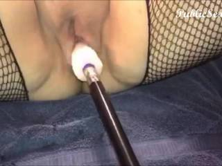Sex Machine Dildo Orgasm - It pounded my pussy fast and hard until I had an amazing orgasm! mmm