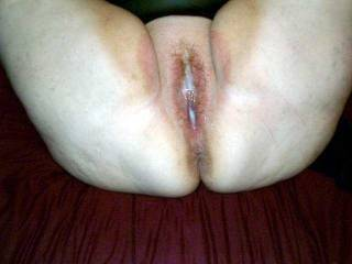 Oh yes That's just how I would fill your big hot white pussy up with my thick creamy cum mmmmmm