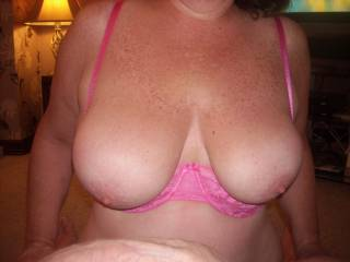 amazing pair of breasts,like to circle jerk over those with some friends.x and watch you lick the cum off them xxxxxxx