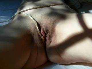 What a nice sweet pussy! Would love to lick it :-P