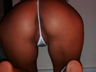 Beautiful love to remove your thongs to the side and give your hot pussy n ass my tongue cock n cum 👅 👅 👅 👅 👅