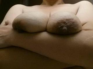 I'd love to put your beautiful tits in my hands mmm