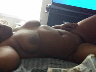 Relaxing after sex