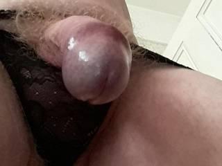 Dick in thong
