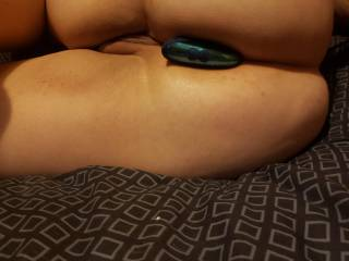 stretching my ass so I have more holes to fuck!