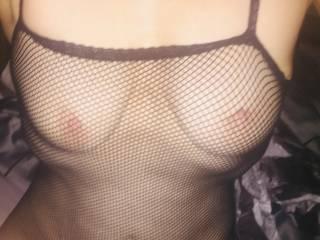 Fishnet body stockings