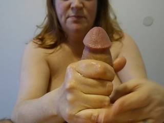I never tire of grabbing a nice hard thick cock! Watch my video to see how I take care of it.