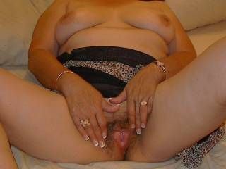 she got horney and was thinking of 25 y/o men fucking her tight mature pussy in front of her husband