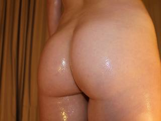 There is nothing like the feel of a fabulous ass covered in oil and yours looks just perfect.