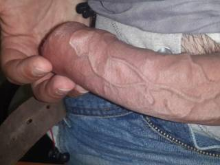 Thats a big thick hot cock! Want to fuck my throat?