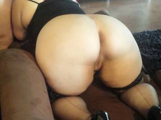 God, she looks like needs a cock from behind at the same time! Anyhow, she's bloody hot... xxx