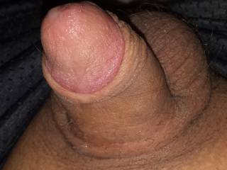 Going soft after cumming from playing with it while sexting a female friend. She loves watching it grow and seeing me beat it in pics for her while she\'s at work. Would you like me to send you pics?