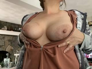Wife's titties!!