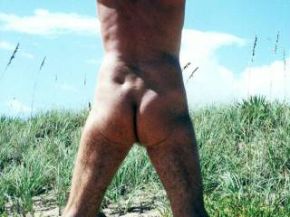 Do you think I should put some suntan lotion on Mr. F\'s butt?  Or on another part of his body?  From Mrs. Floridaman