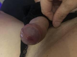 Who wants to taste my pre cum