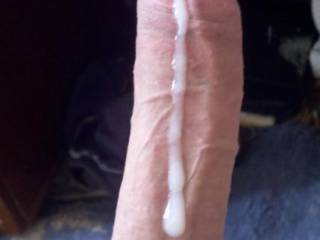 Love how long and fat your cock is Wish I could have!!!!