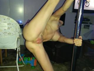 Only thing wrong is I'm not sucking on your pussy lips while you stretch!!