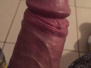 My friends juicy big smooth uncut cock. Just the way I like them