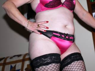 Playboy Lingerie - hubby gave me this xxx lingerie to show you horny guys for you to enjoy