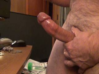 some great, smooth stroking. And a really nice cumshot, to share with you. You\'re welcome. lol