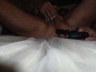 solo~sex with a NEW toy