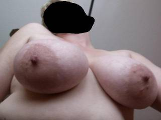 I`d love to have those babies hanging in my face while you ride my cock