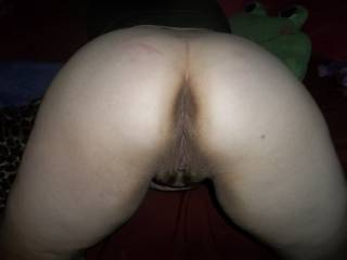 love to suck that pussy  and lick her asshole just before i shove my cock into her hot wet pussy then her tight asshole and fill her with hot sticky cum,hows that sound?