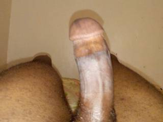 Just horny so decided to show my 18years one black cock