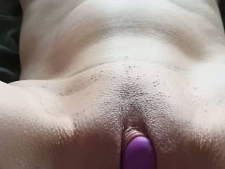 making her come with toy and fingering her ass .part1