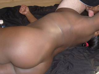 Very hot!! Would love to slide my hard cock deep in that sweet ass!!