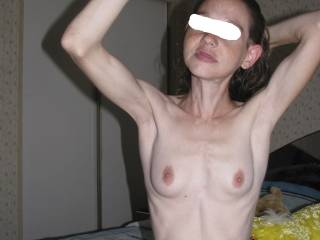 I hooked up with this super skinny chick a few years back. She gave awesome head and had no gag reflex. Her tongue was so long she was licking my balls when my cock was all the way down her throat!