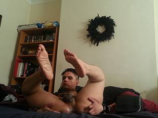 mmm love to help  you stretch it love your sexy feet mmm