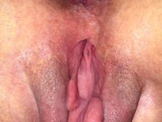 close look at her pussy and browneye, ready to be licked