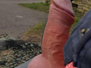 Sat down on a bench on a walk and got Horny!