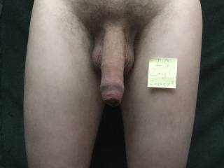 This is my soft dick. The new skin I have grown covers the head which protects it from drying out and losing sensation by rubbing against clothing.