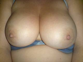 oh id like to cum one these gorgeous huge tits. you can be proud of these