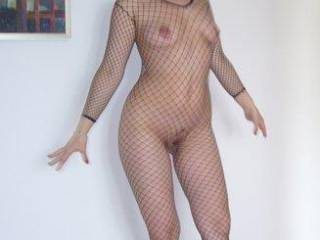 Such a sexy body...  I've always been a fan of the bodystocking, and you're a perfect example of why!