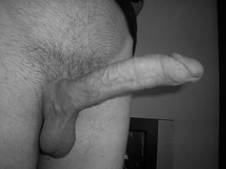 Mmmmmmmm, NICE Cock!! my pussy would Love to Ride it!!! While my Man get his Cock Sucked at the same time... :)