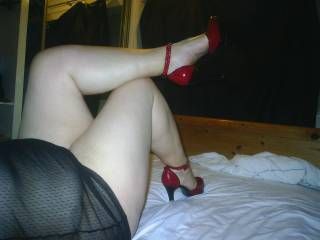 Fuck....I'd love to shoot a load on your sexy legs.  I'm jacking for them right now.