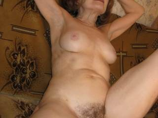 Nude mature woman