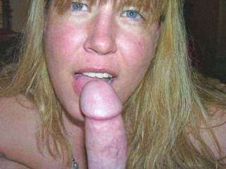 Her beautiful face would be enough to make me cum. Would she share your cock with me?