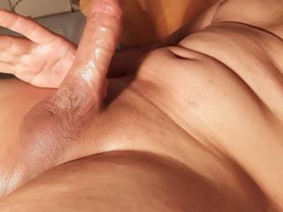 My big dick oiled