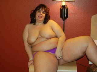 Should Naughty V move her hand and show off the goodies???