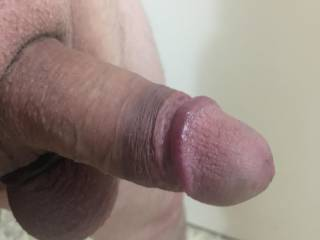 Getting hard pre shower time
