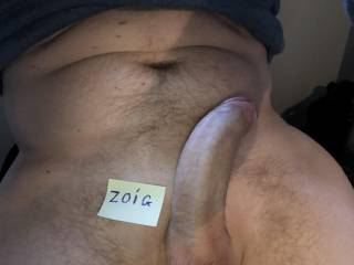 My big hard dick with the Zoig-tag