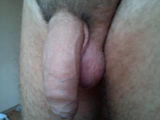 That'sa real nice, fat, thick uncut cock.