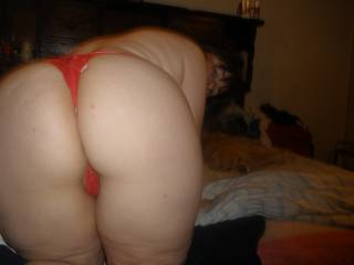 I would love to cum all over that juicy ass, perhaps while holding your panties to my face, so I can smell you and taste you.