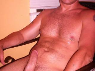 really really no surprise his cock is soooo hard and swollen. seeing you around would keep me big and erect all day long. wanna see for yourself??