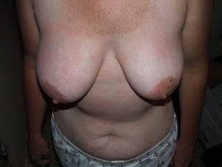 Tits. U like? I think their too saggy.
