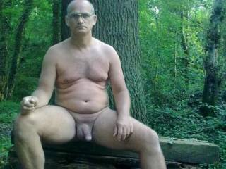 taken whilst enjoying a naturist holiday at a site that had some lovely woods to walk through